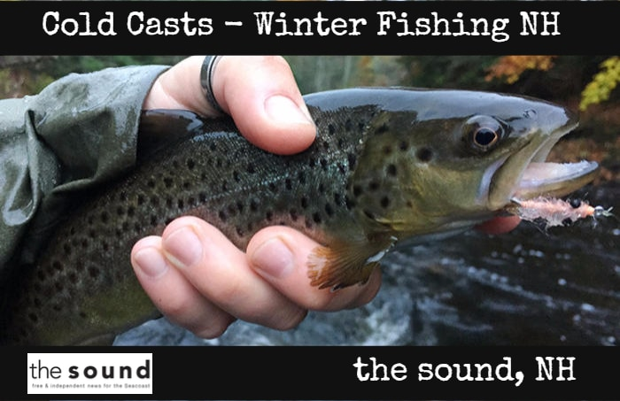 the sound NH Winter Fishing