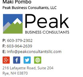 peak html signature image