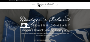 Badger's Island Sewing Company - Web Design and Development